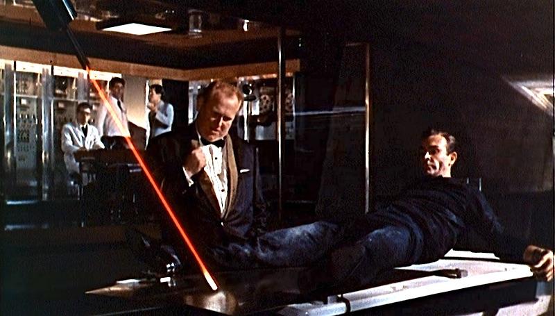Goldfinger laser cutting
