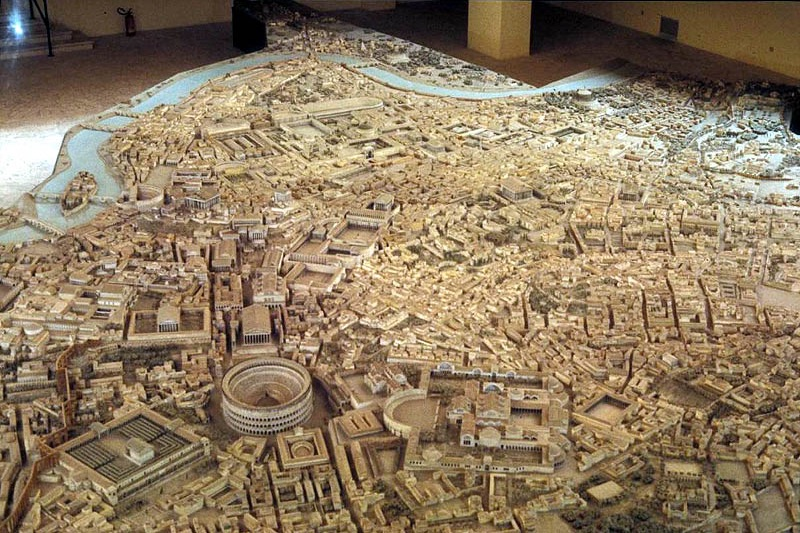 Original scale model of Ancient Rome